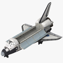 space shuttle 3D models