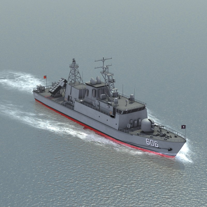ching chiang patrol boat 3d model