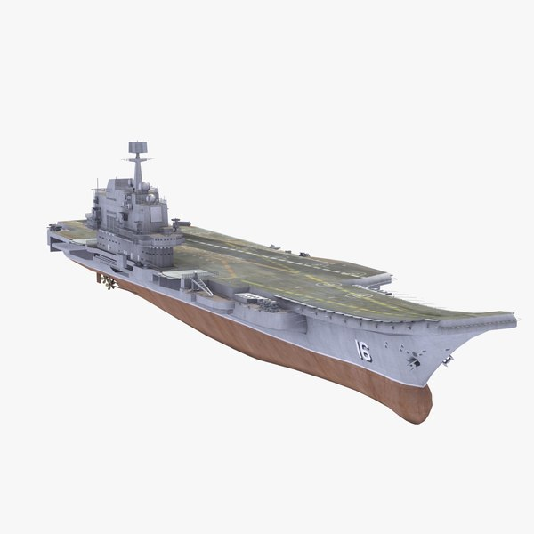 3d model chinese cv16 liaoning aircraft carrier