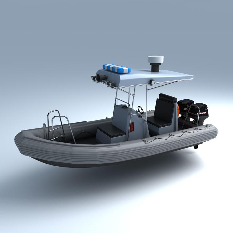 police boat max