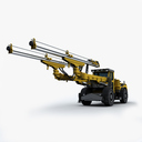 Heavy Construction Machinery 3D models