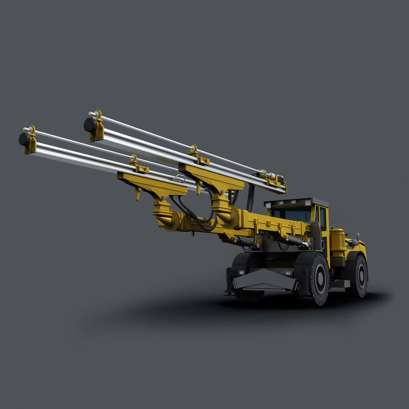 3d model atlas copco e2 c