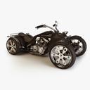 four-wheeler 3D models