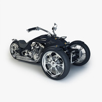 max custom trike chopper