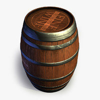 Wooden Barrel 3