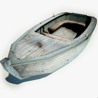 Old Fish Boat