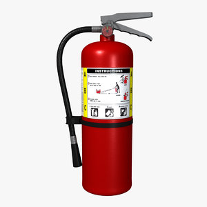 new extinguisher 3d ma
