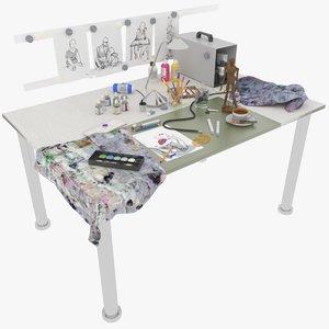 max writing desk compressor
