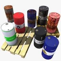 Barrels and Pallet