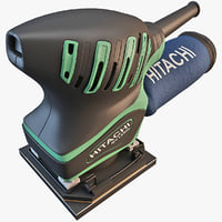 obj hitachi orbital palm sander