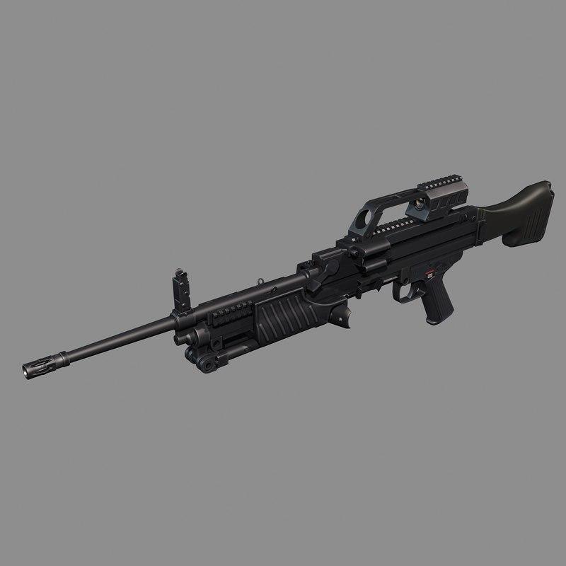 heckler koch machine gun max