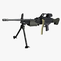 max heckler koch mg4 machine gun