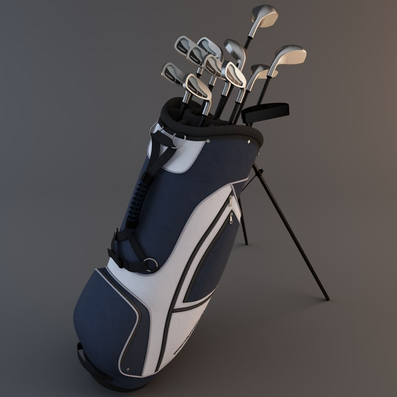 golf bag 2 obj