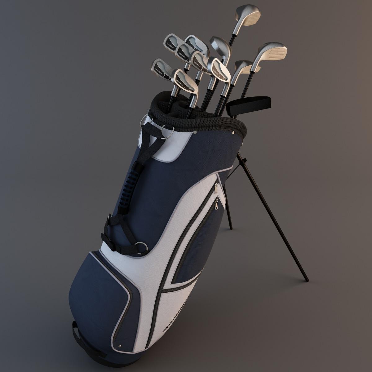 golf bag 2 obj