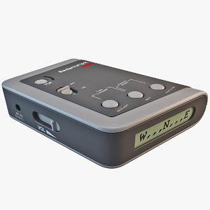 3d radar detector radarhawk silver model