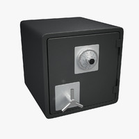 Safe with Combination Lock