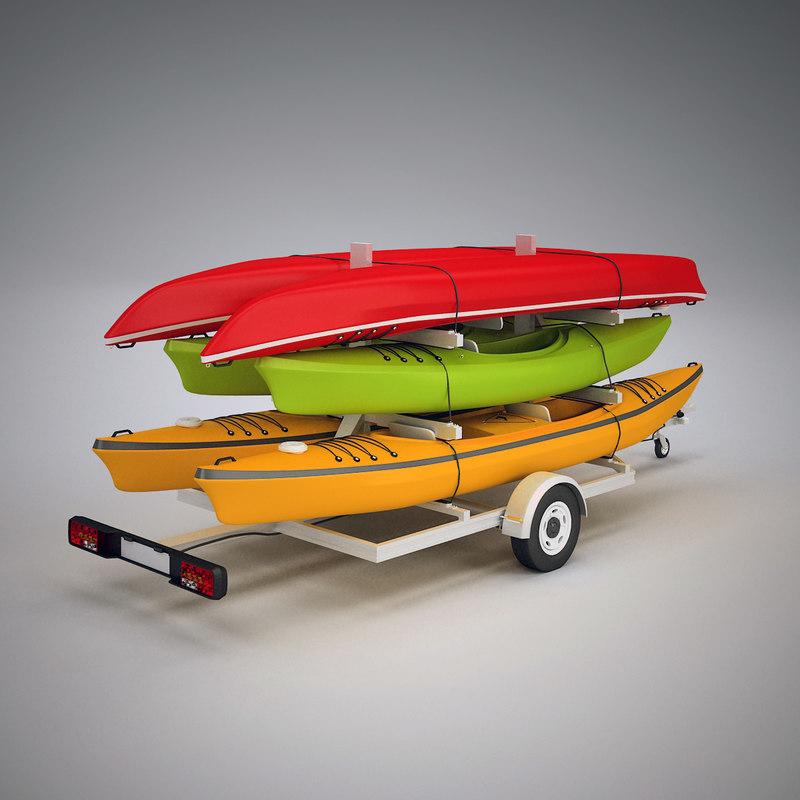 kayak trailer max