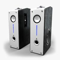 midea stereo 3d model