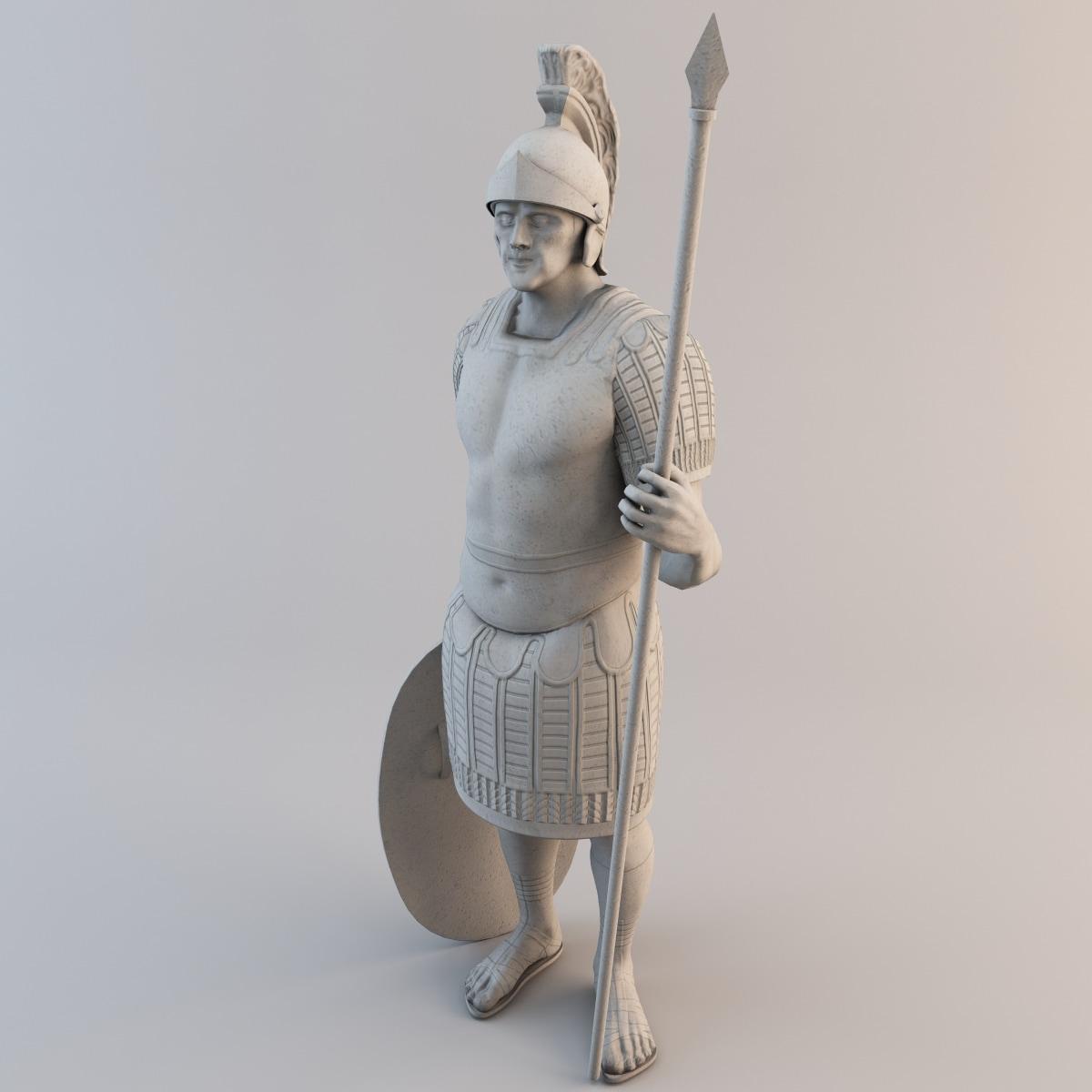 3d legioner statue model