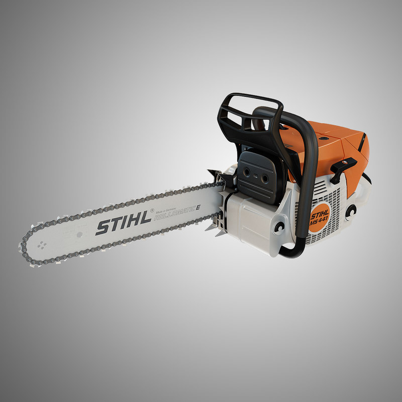 max stihl chain saw ms
