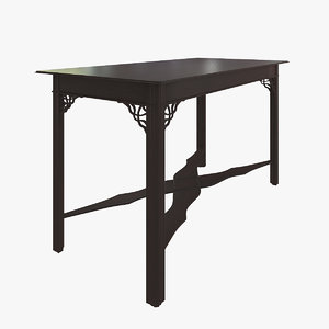 3ds max george iii table