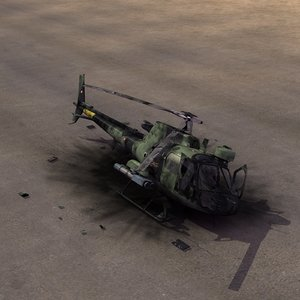 lwo crashed as550 fennec