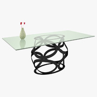 3d table constantini modern