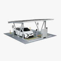 EV Parking & Car