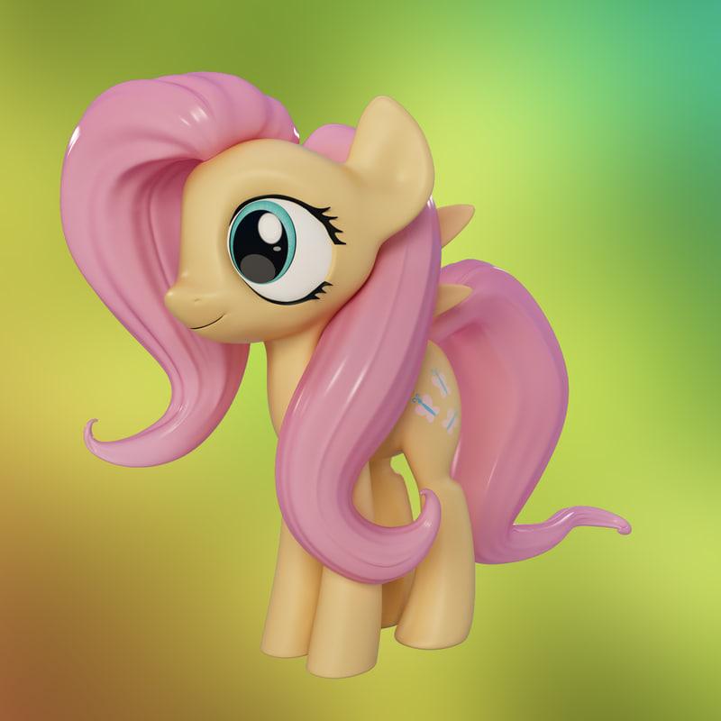 3ds little pony fluttershy