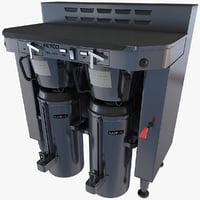 commercial coffee machine 2 obj