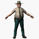 Sheriff 3D models