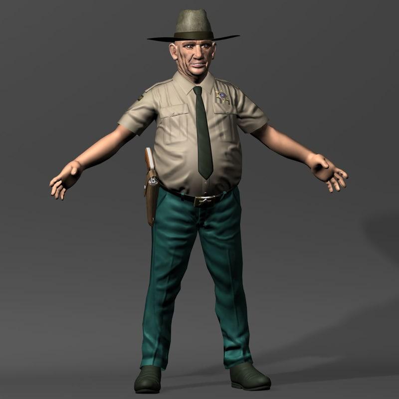 sheriff man 3d 3ds