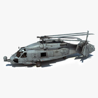 max sh-60b military helicopter version