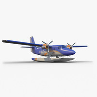 viking air dsc-6 3d model