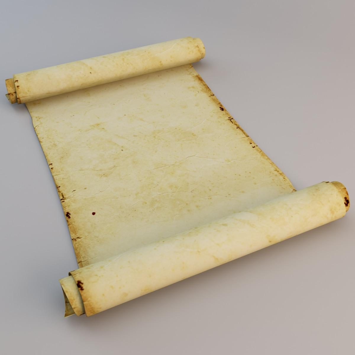 3d old paper