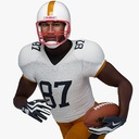 football player 3D models