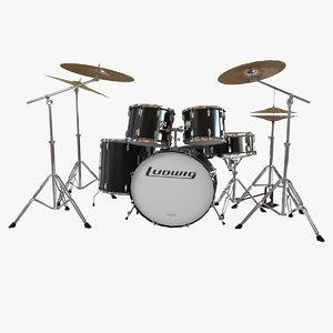 3ds max classic percussion set