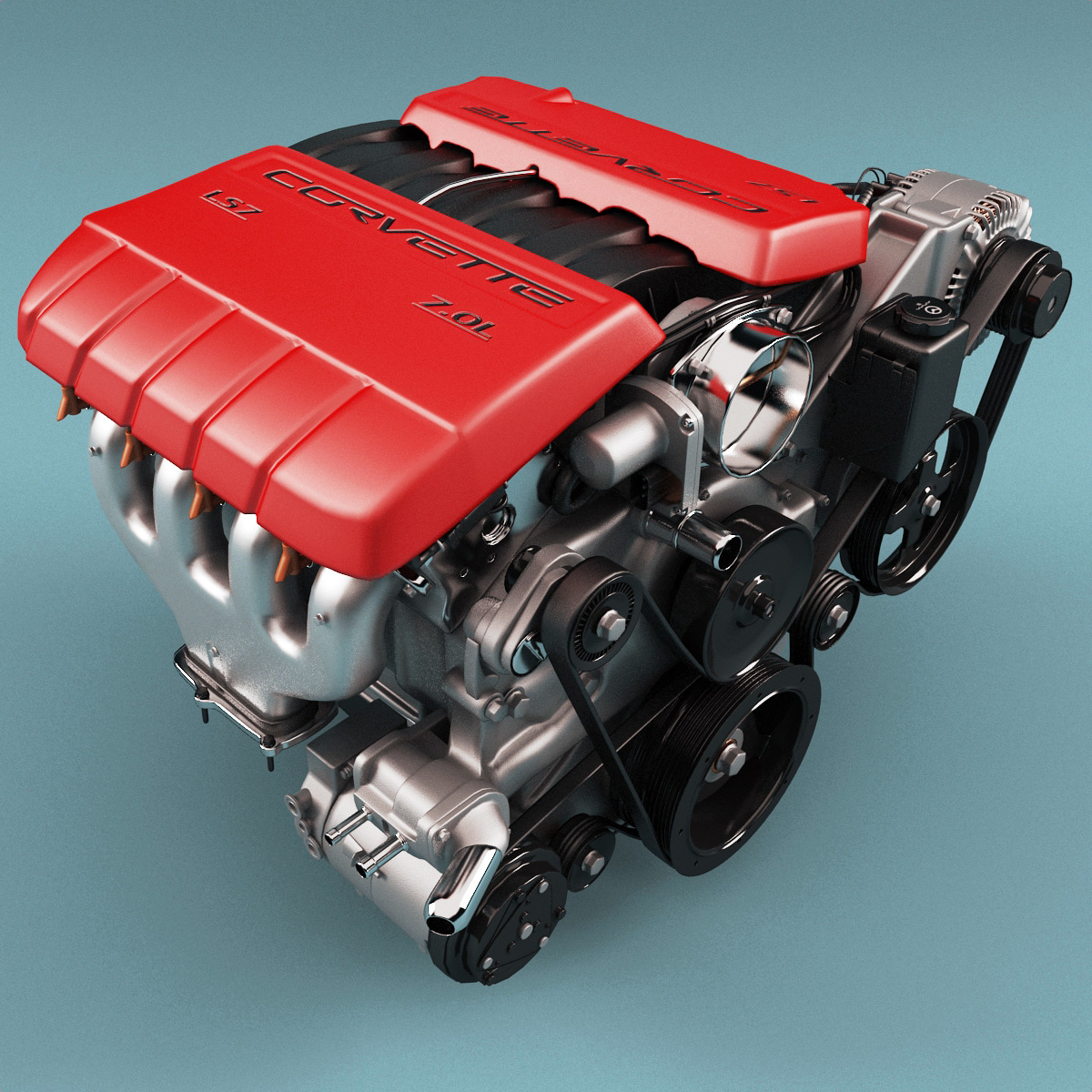 chevrolet corvette ls7 engine motor max