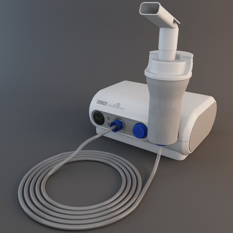 3d air elite compressor inhaler