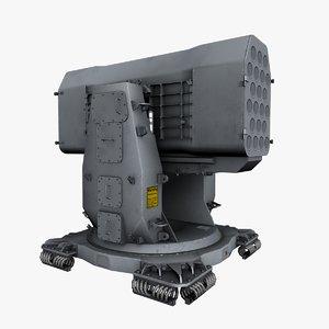 ram rim-116 rolling airframe 3d model