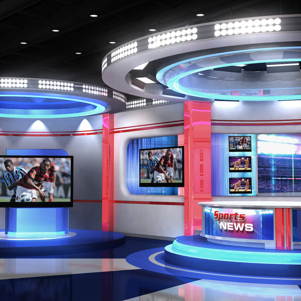 3d real time sports studio