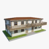 3d floor house