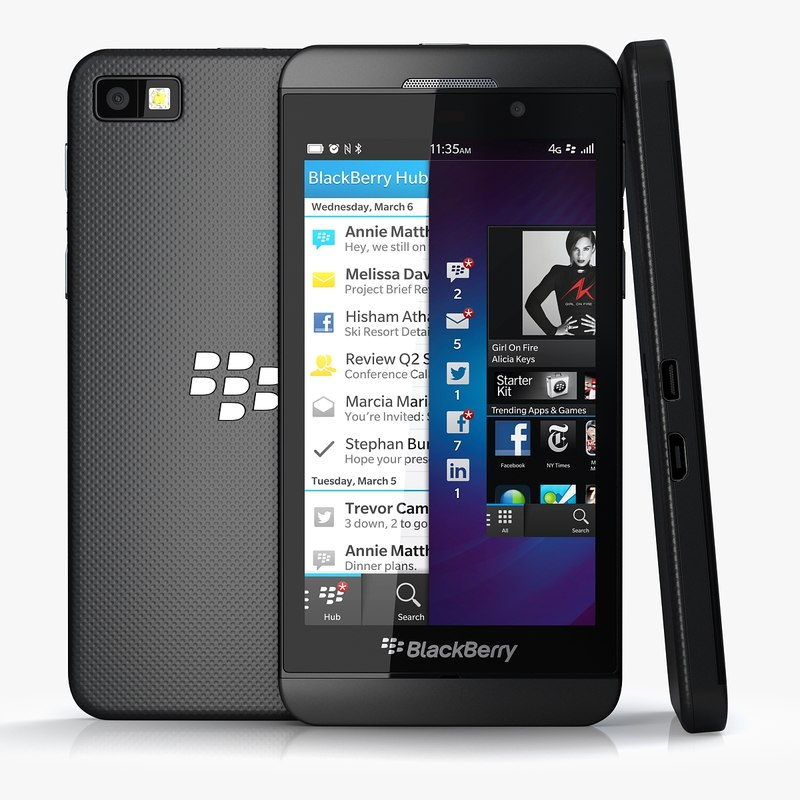black berry z10 3ds