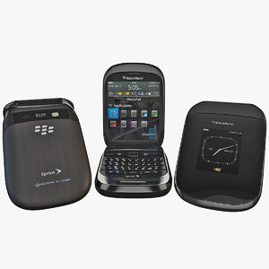 3d blackberry style 9670 cellphone