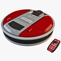 lg r4000 robot vacuum cleaner 3d model
