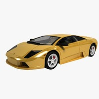 3d model lamborghini murcielago car