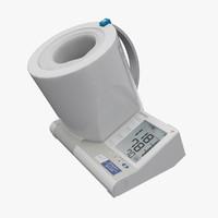 blood pressure monitor i-q132 3d model