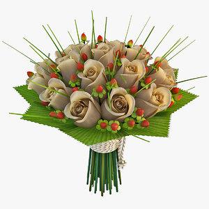 3d flower bouquet