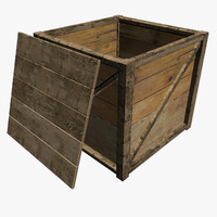 Packing Crate With Lid