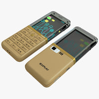 explay crystal gold cellphone max